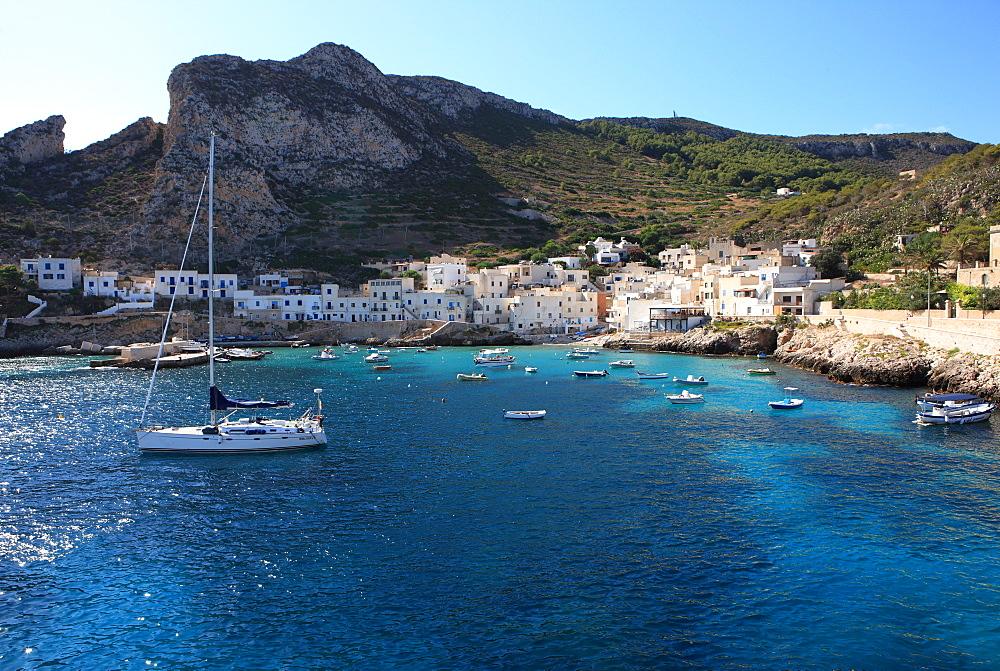 Levanzo, Egadi Island, Sicily, Italy, Mediterranean, Europe - 806-257