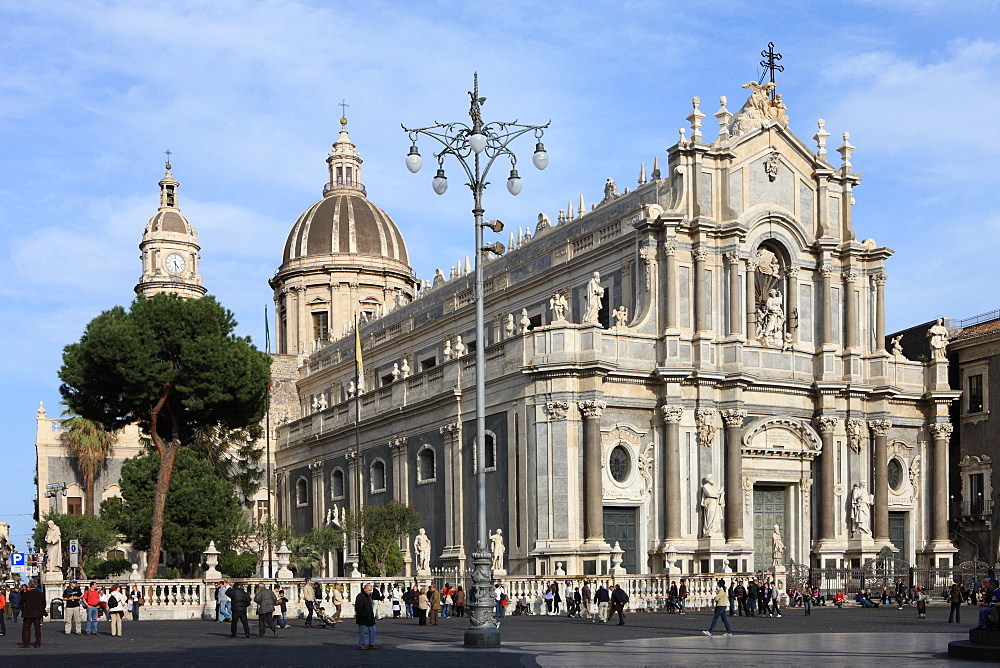 Duomo, Catania, Sicily, Italy, Europe - 806-259