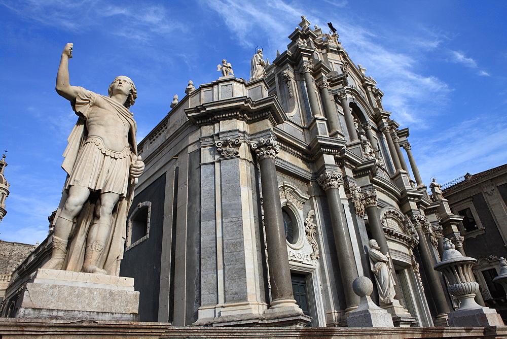 Duomo, Catania, Sicily, Italy, Europe - 806-260