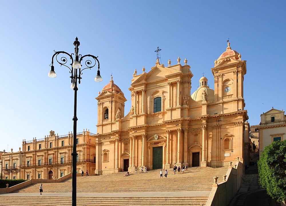 Duomo, Noto, Sicily, Italy, Europe - 806-263