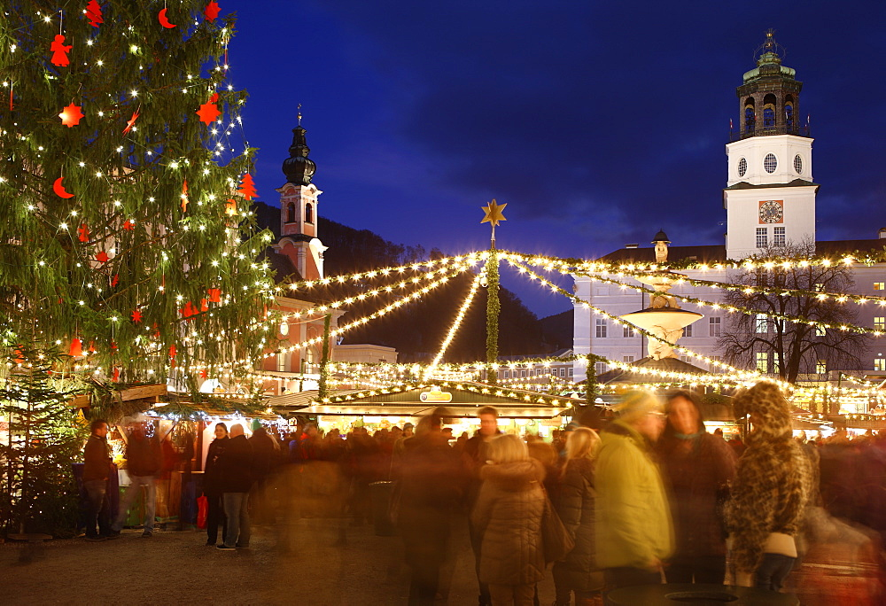 Christmas Market, Salzburg, Austria, Europe - 806-295