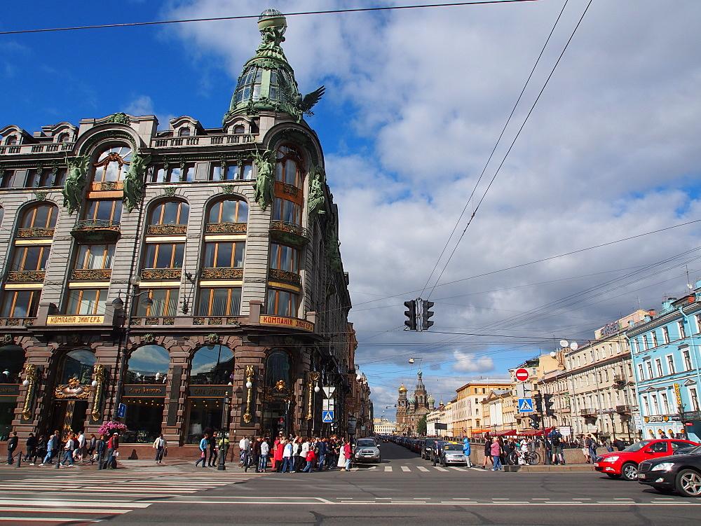 Nevsky Prospekt, St. Petersburg, Russia, Europe - 806-305
