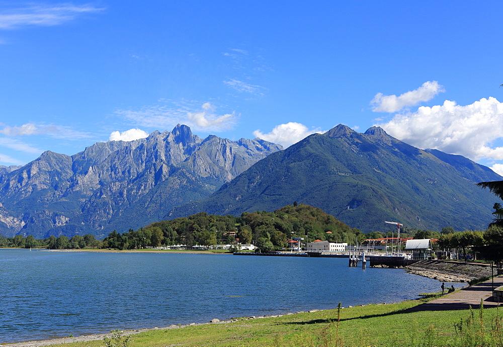 Colico, Lake Como, Lombardy, Italian Lakes, Italy, Europe - 806-337