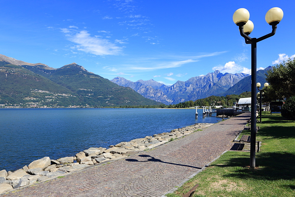 Colico, Lake Como, Lombardy, Italian Lakes, Italy, Europe - 806-338