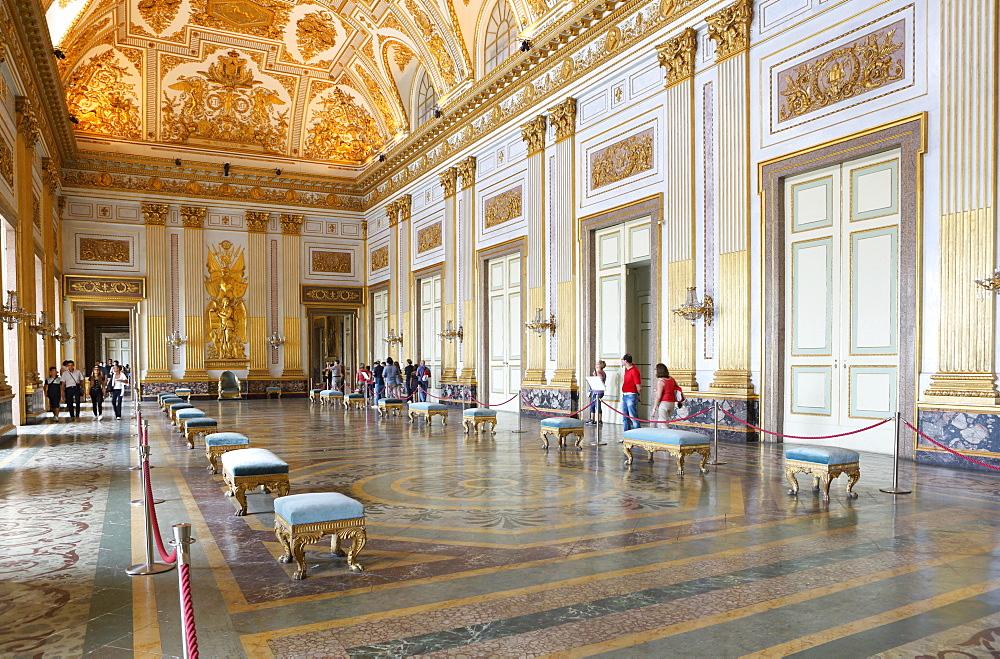 Salon, Reggia di Caserta, Caserta, Campania, Italy, Europe - 806-347