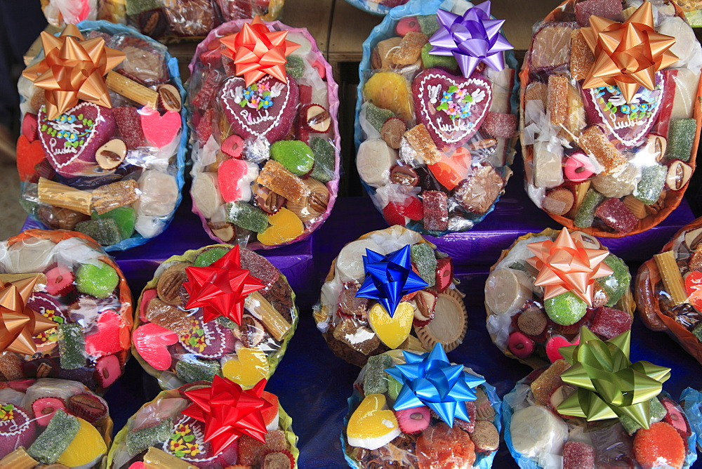 Traditional Mexican sweets and candies, Puebla, Historic Center, Puebla State, Mexico, North America