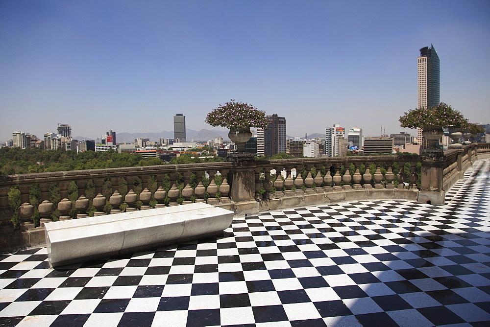 El Castillo de Chapultepec (Chapultepec Castle), Chapultepec Park, Chapultepec, Mexico City, Mexico, North America