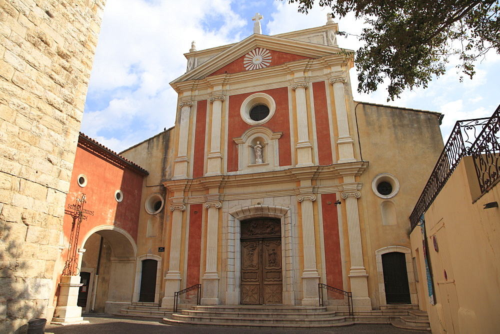 Church of the Immaculate Conception, Old Town, Vieil Antibes, Antibes, Cote d'Azur, French Riviera, Provence, France, Europe