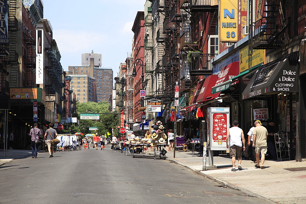 Orchard Street, Lower East Side, Manhattan, New York City, United States of America, North America