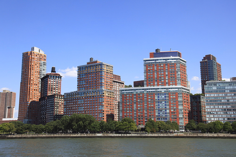 Battery Park City, Financial District, Manhattan, New York City, United States of America, North America