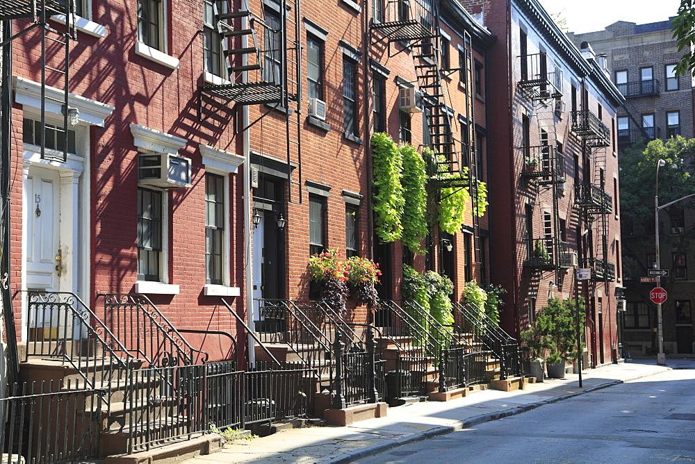 Gay Street, Greenwich Village, West Village, Manhattan, New York City, United States of America, North America