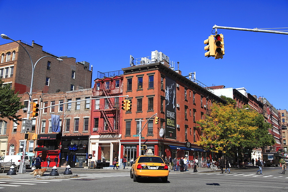 Houston Street, Greenwich Village, Manhattan, New York City, United States of America, North America