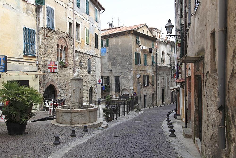 Ventimiglia, Medieval, Old Town, Liguria, Imperia Province, Italy, Europe