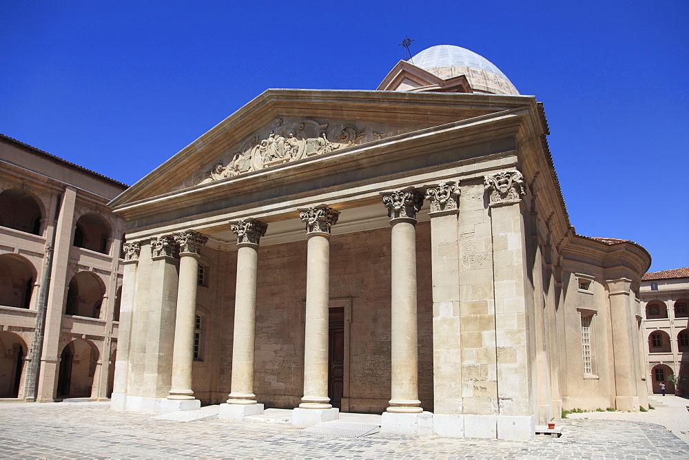 Centre de la Vieille Charite, Museum, Le Panier, Old Town, Marseille, Bouches du Rhone, Provence Alpes Cote d'Azur, France, Europe