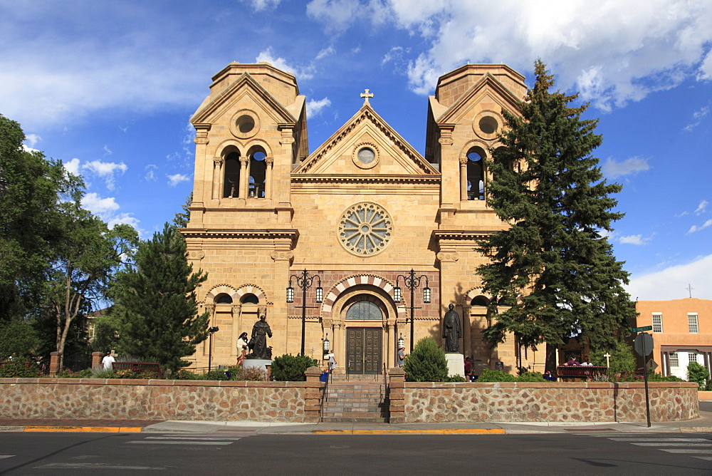 St. Francis Cathedral (Basilica of St. Francis of Assisi), Santa Fe, New Mexico, United States of America, North America