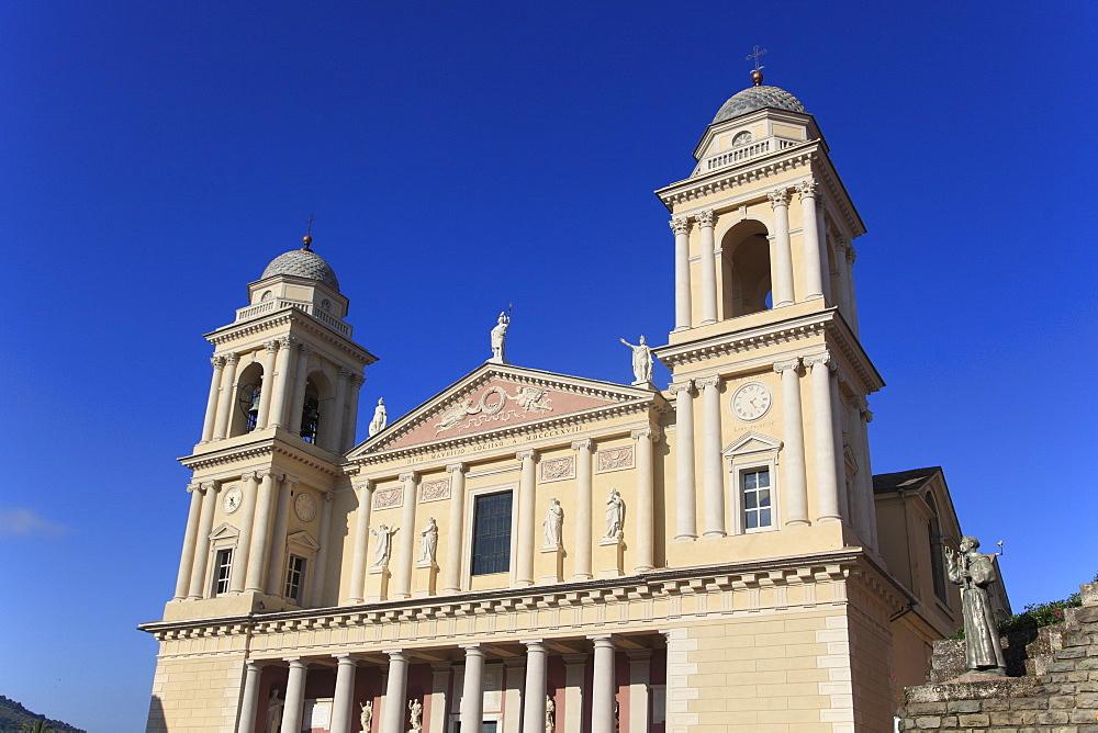 Cathedral, Old Town, Parasio, Porto Maurizio, Imperia, Liguria, Italian Riviera, Italy, Europe
