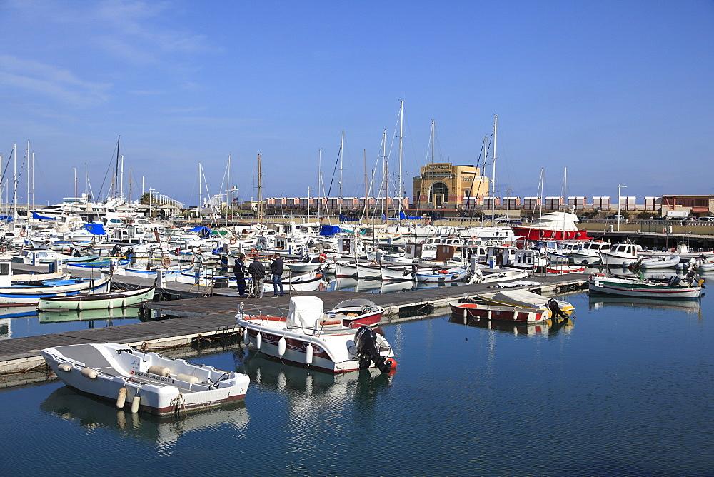 Harbor, Marina, Porto Maurizio, Imperia, Liguria, Italian Riviera, Italy, Europe