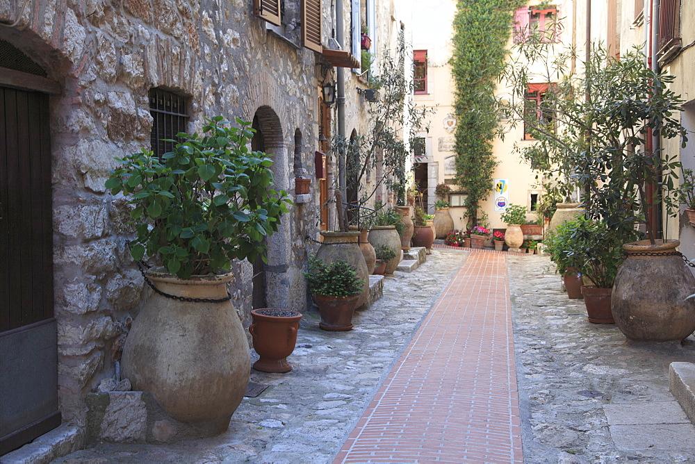 Village of La Turbie, Alpes-Maritimes, Cote d'Azur, French Riviera, Provence, France, Europe