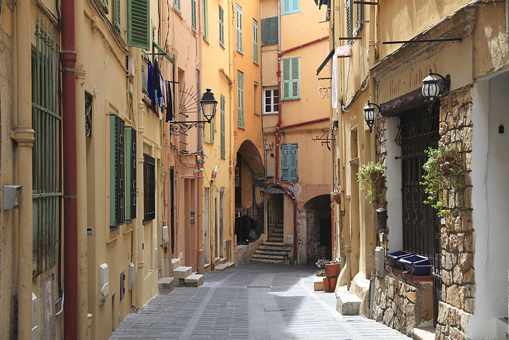 Old Town, Menton, Alpes Maritimes, Cote d'Azur, French Riviera, Provence, France, Europe