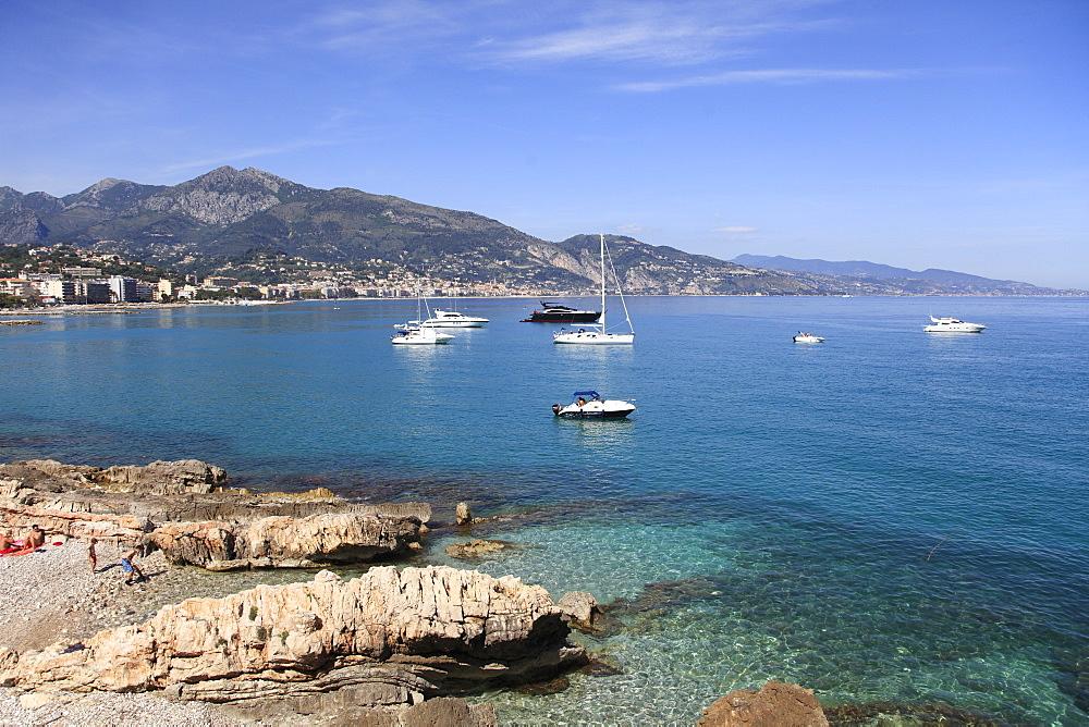 Menton, Alpes Maritimes, Cote d'Azur, French Riviera, Provence, France, Europe