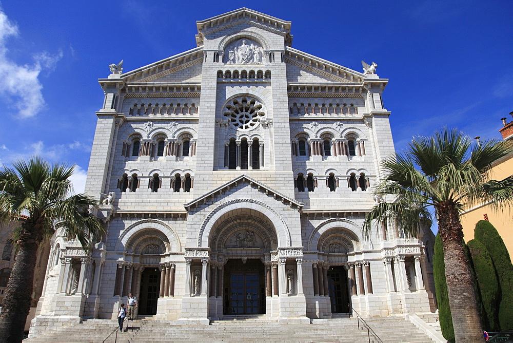 St. Nicholas Cathedral, Monaco Cathedral, Monaco-Ville, Old Town, Le Rocher (The Rock), Monaco, Cote d'Azur, Europe