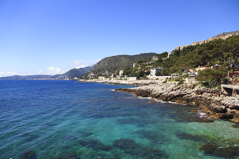 Cap d'Ail, Cote d'Azur, French Riviera, Provence, France, Mediterranean, Europe