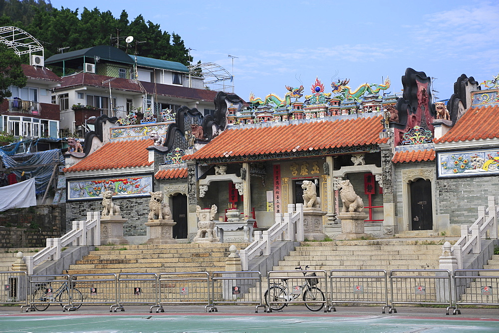 Pak Tai Temple, also known as Yuk Hui Temple, Cheung Chau Island, Hong Kong, China, Asia