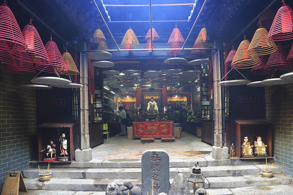 Kwun Yum Temple, 19th century Tin Hau (Goddess of the Sea) Temple Complex, Yau Ma Tei, Kowloon, Hong Kong, China, Asia