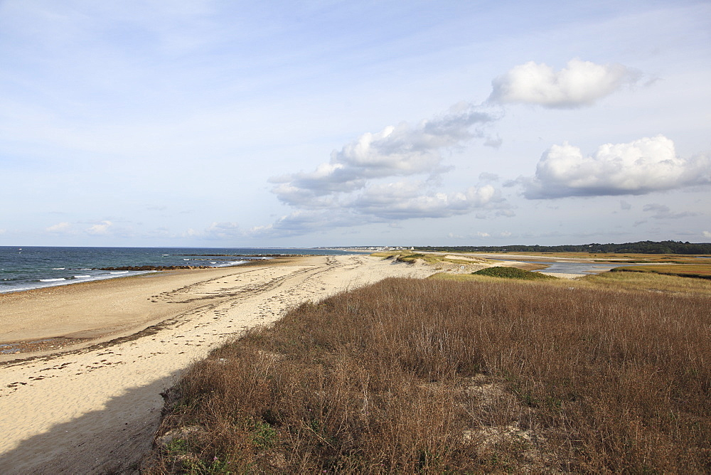 Town Neck Beach, Cape Cod Bay, Sandwich, Cape Cod, Massachusetts, New England, United States of America, North America