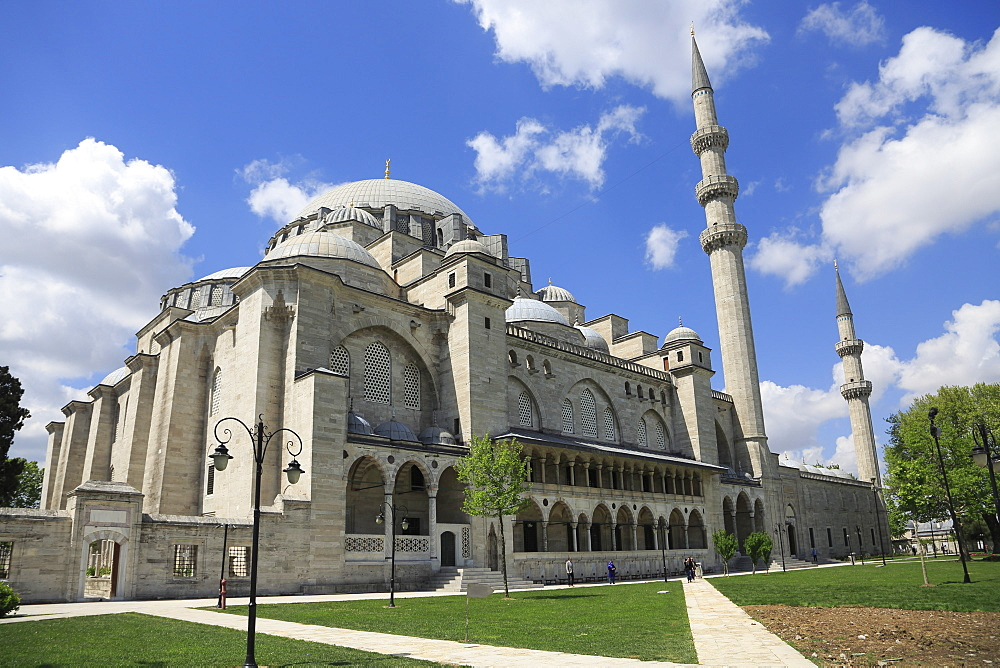 Suleymaniye Mosque, UNESCO World Heritage Site, Istanbul, Turkey, Europe