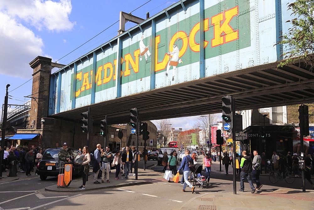 Camden Lock, High Street, Camden, London, England, United Kingdom