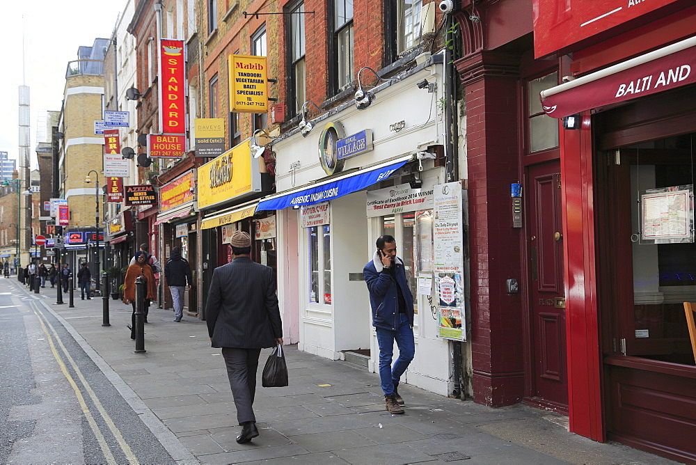 Brick Lane, Spitalfields, East End, London, England, United Kingdom
