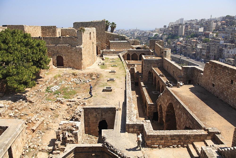 Citadel of Raymond de Saint-Gilles, Tripoli, Lebanon, Middle East