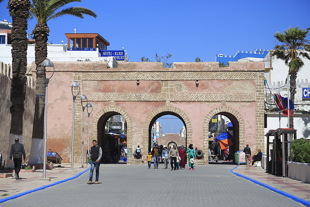 Old City Gate, Essaouira, UNESCO World Heritage Site, Morocco, North Africa, Africa