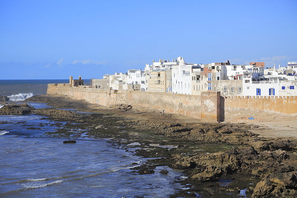 Old Walled City, Ramparts, Essaouira, UNESCO World Heritage Site, Morocco, Atlantic Coast, North Africa, Africa