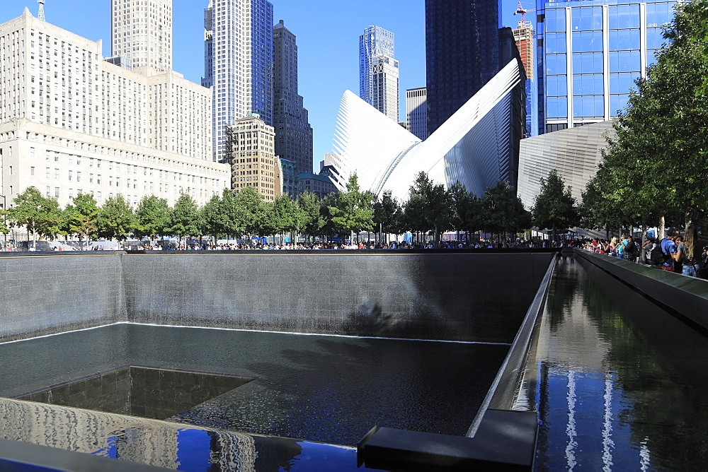 National September 11, 9/11 Memorial, Oculus, World Trade Center, Financial District, Manhattan, New York City, United States of America, North America - 807-1986