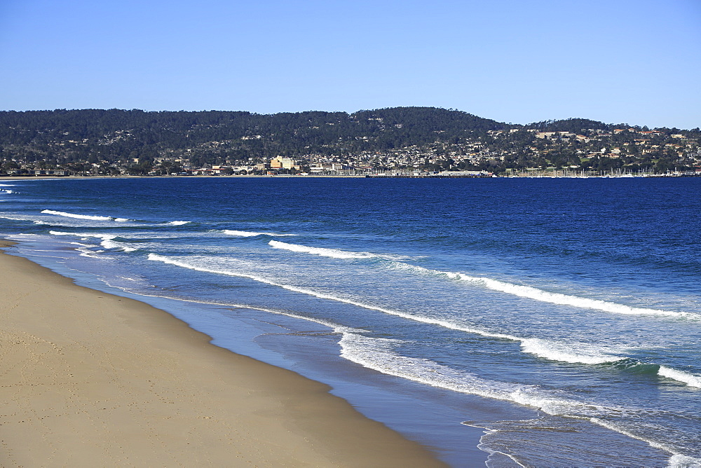 Beach, Monterey Bay, Peninsula, Monterey, Pacific Ocean, California, United States of America, North America