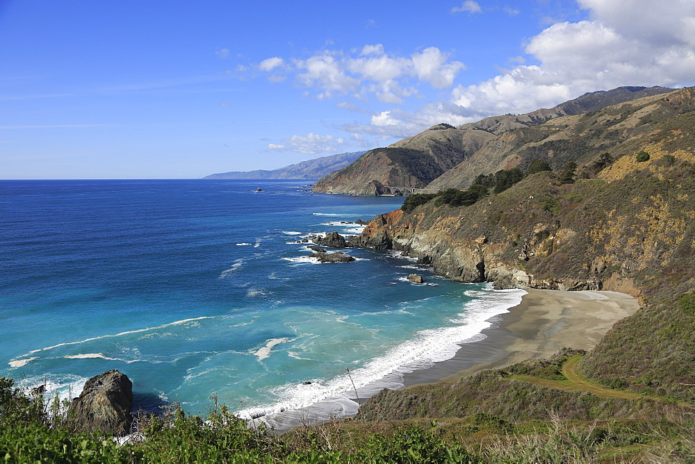 Big Sur Coastline, Pacific Ocean, California, United States of America, North America