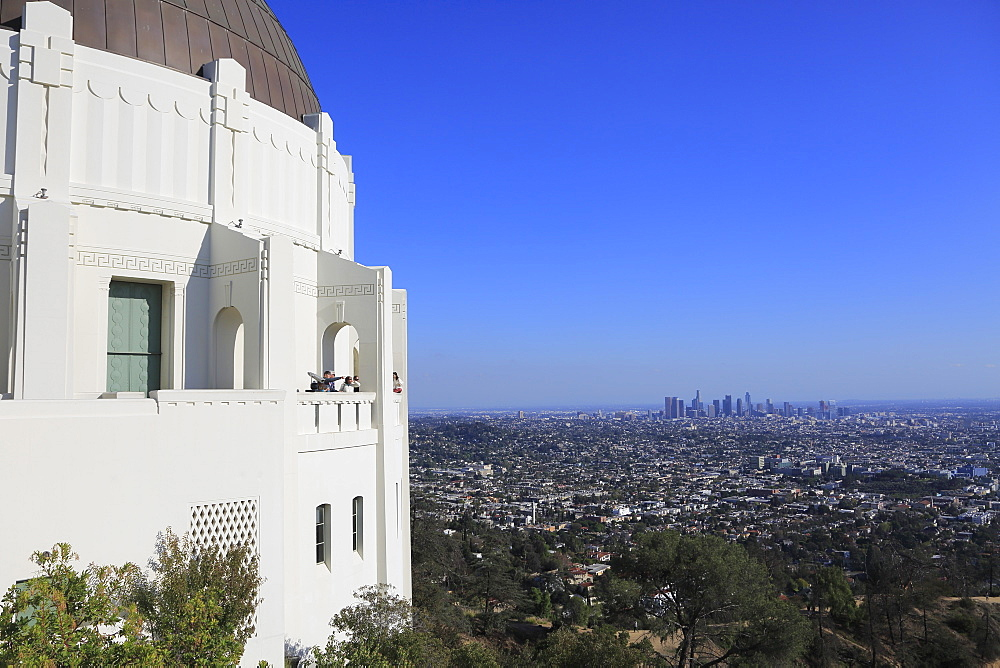Griffith Observatory, Griffith Park, Hollywood, Los Angeles, California, USA