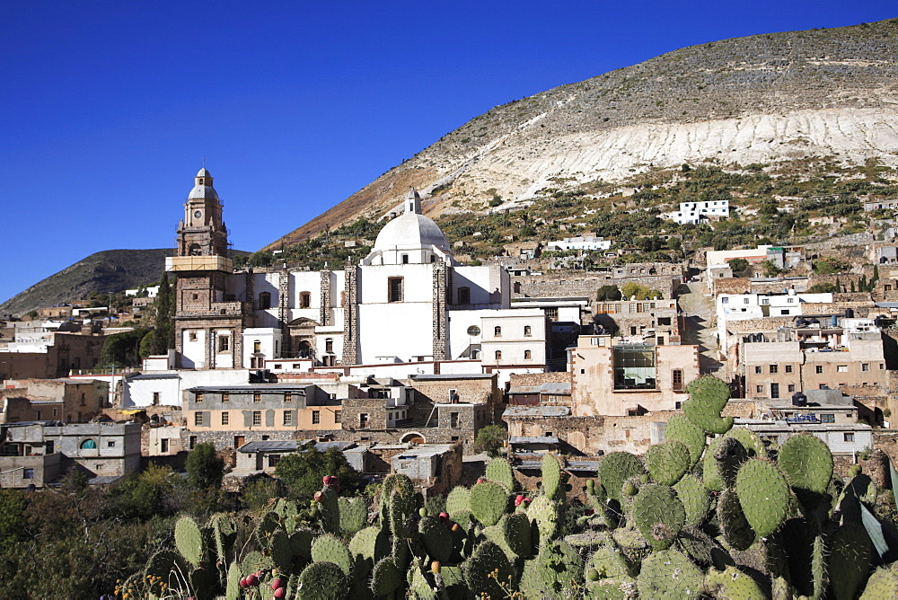Parish of the Immaculate Conception, Catholic pilgrimage site, Real de Catorce, San Luis Potosi state, Mexico, North America