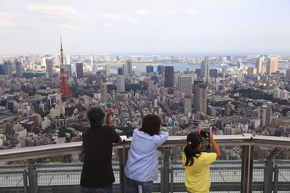 Tokyo City View observation deck, Mori Building, Roppongi Hills, Tokyo, Japan, Asia