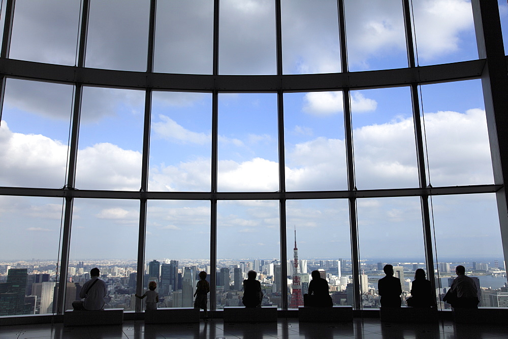 Tokyo City View observation viewpoint, Mori Building, Roppongi Hills, Tokyo, Japan, Asia