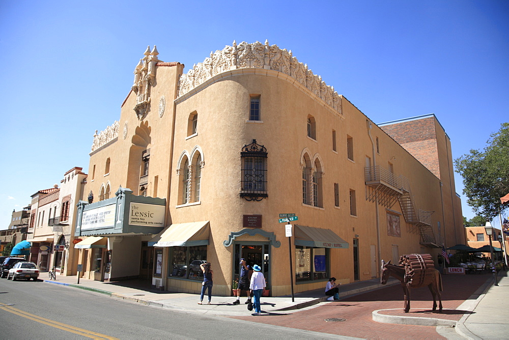 Lensic Performing Arts Center, Santa Fe, New Mexico, United States of America, North America