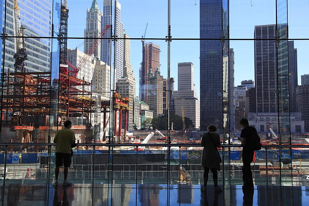 World Trade Center Site, Ground Zero, Financial District, Manhattan, New York City, United States of America, North America