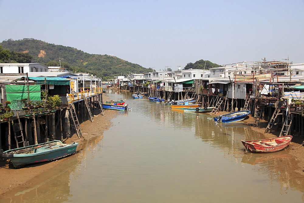 Stilt Houses, Tai O fishing village, Lantau Island, Hong Kong, China, Asia