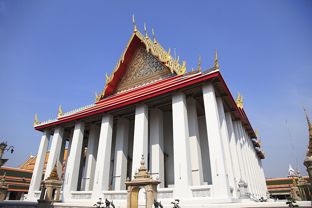 Wat Pho (Wat Po) (Wat Phra Chetuphon), oldest Buddhist temple in the city, Rattanakosin (Ratanakosin), Bangkok, Thailand, Southeast Asia, Asia