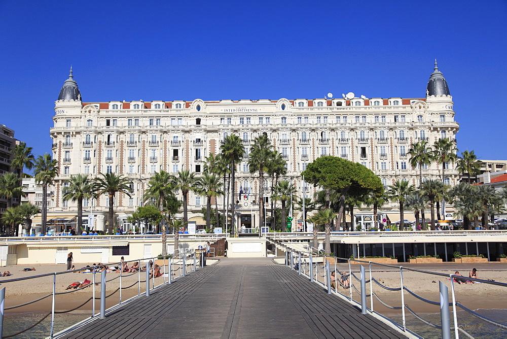 Carlton Hotel, Carlton InterContinental, La Croisette, Cannes, Provence, Cote d'Azur, French Riviera, France, Europe