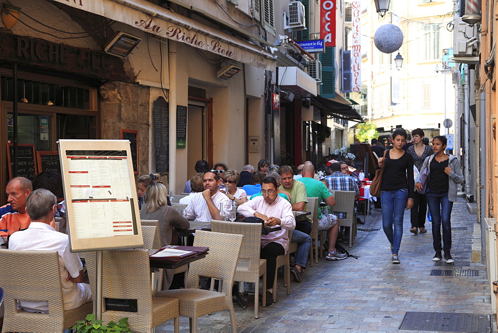 Rue Meynadier, Cannes, Alpes Maritimes, Provence, Cote d'Azur, France, Europe