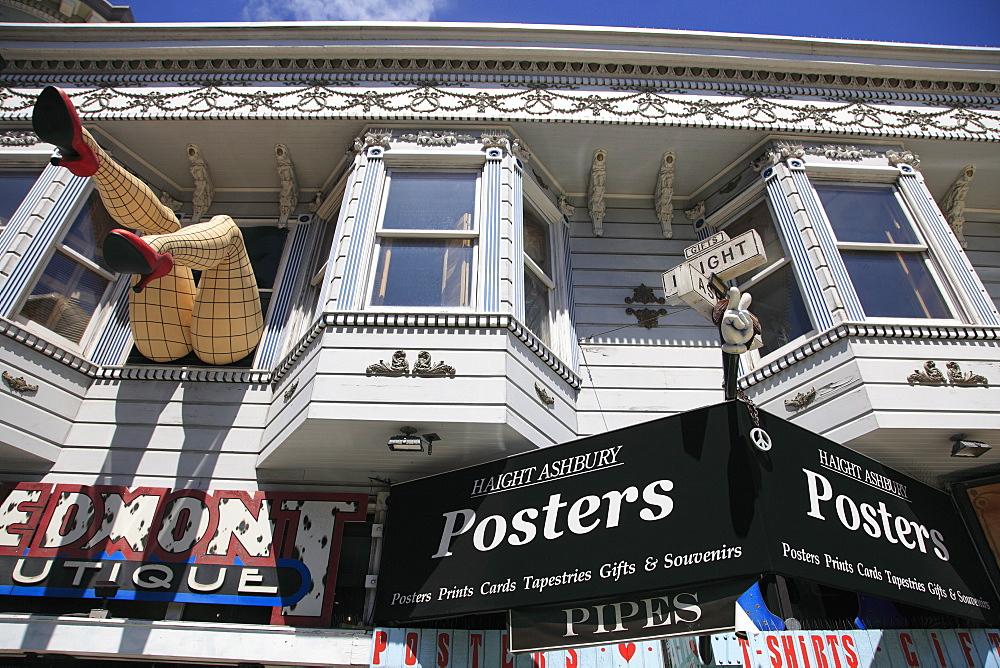 Haight Street, Haight Ashbury District, The Haight, San Francisco, California, United States of America, North America