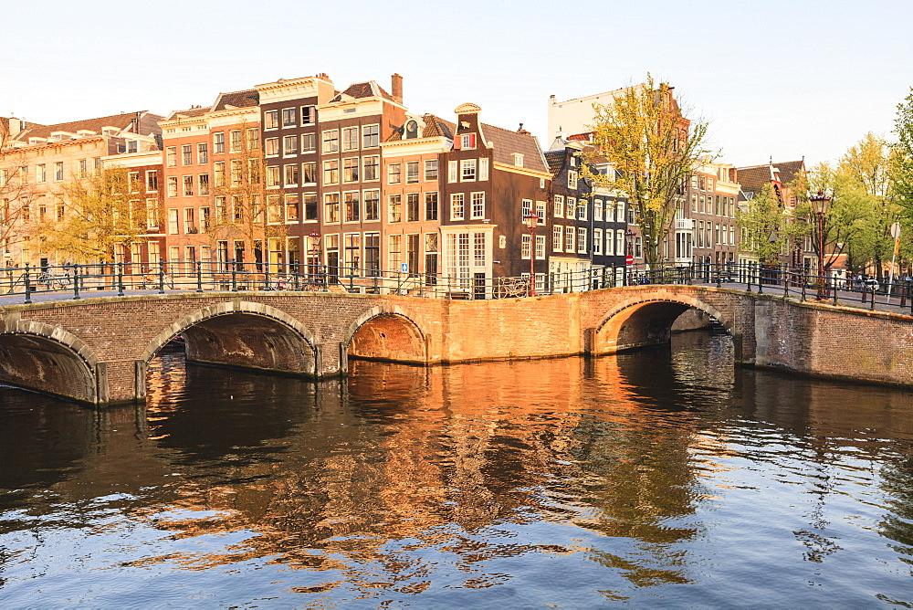 Keizersgracht Canal, Amsterdam, Netherlands, Europe